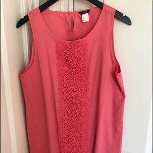 JCrew Medium Coral Dress